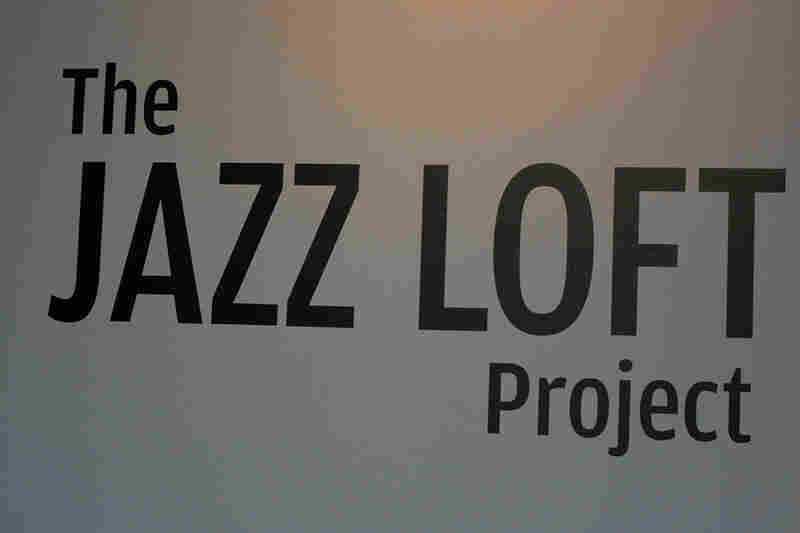 Display for The Jazz Loft Project at Nasher Museum of Art in Durham, N.C.