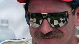 Dale Earnhardt after winning the 1995 International Race of Champions in Daytona Beach, Fla.