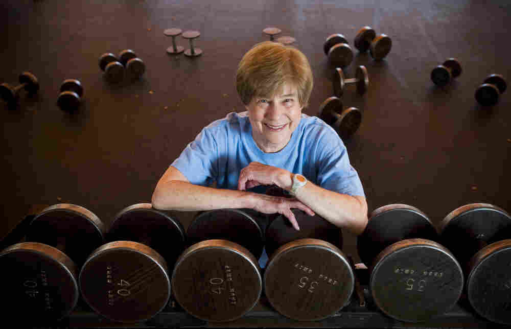 Sandy Palais, 73, of Arizona started lifting weights about 10 years ago after she was diagnosed with osteoporosis.