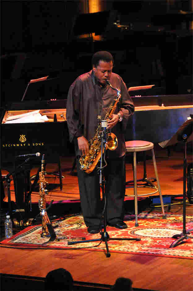 Wayne Shorter performs at New England Conservatory.