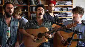Local Natives: Tiny Desk Concert