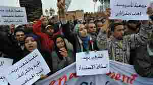 Morocco's Protests Take A Peaceful Turn