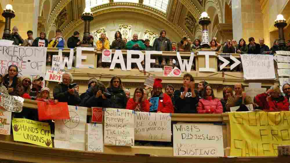While the legislative process stalls, politics by other means continues in the streets and in the Capitol's hallways.