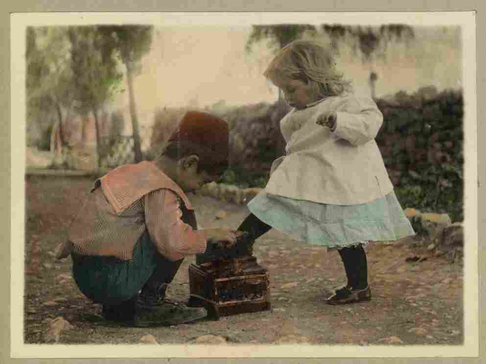 This photo was taken sometime in the 1910s. I wonder what the boy and girl would look like now if they recreated this photo today...