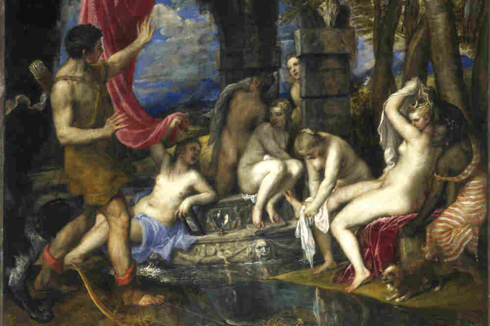 Diana and Actaeon by Titian, 1556-59.