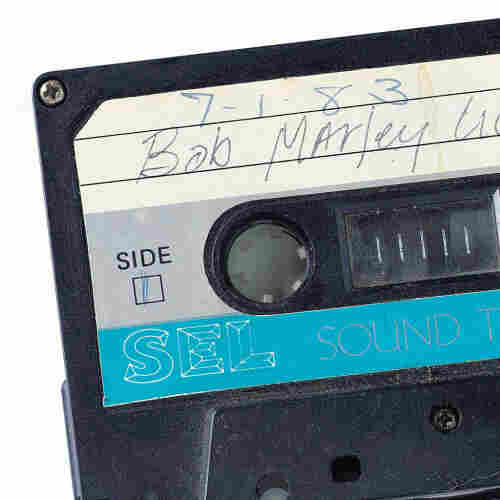Tale of the tape: a vintage Bob Marley cassette.