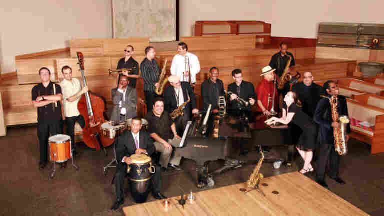 The Afro-Latin Jazz Orchestra.