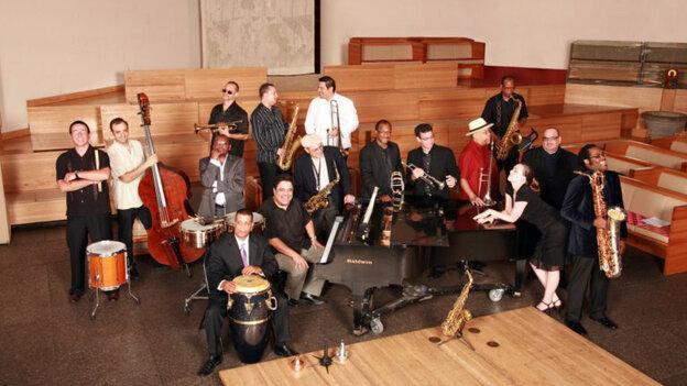 The Afro-Latin Jazz Orchestra.
