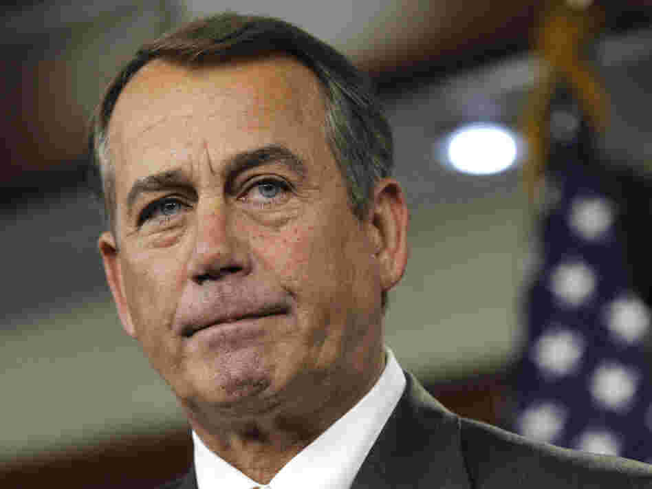House Speaker John Boehner of Ohio.