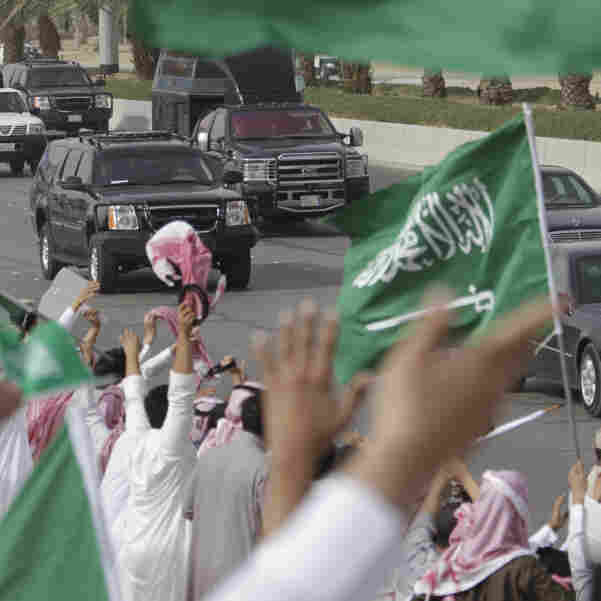 Nearby Uprisings Stoke Saudis' Political Passions