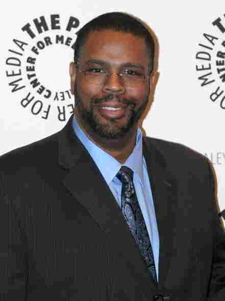 Comics writer Dwayne McDuffie, seen here earlier this month, died Tuesday at 49.