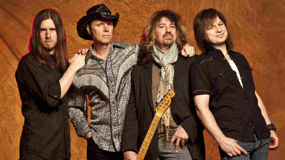 The legendary cowpunk band recently performed on World Cafe.