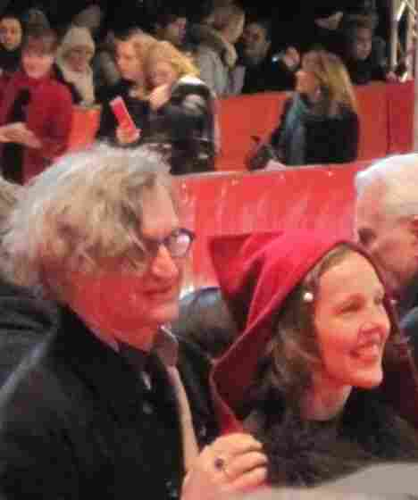 Wim Wenders, along with his wife Donata, attended this year's Berlinale Film Festival.