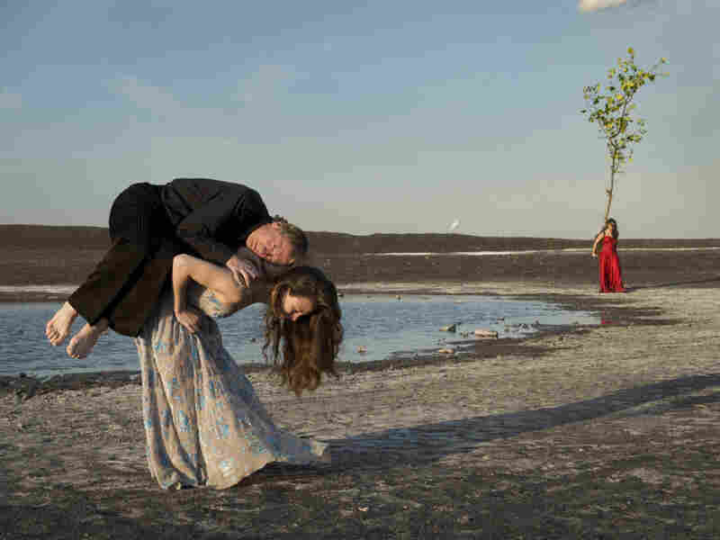 """Dancers Thusnelda Mercy, Dominique Mercy, Clémentine Deluy are part of Bausch's ensemble """"Tanztheater Wuppertal."""""""