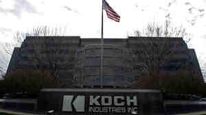 The Koch Industries Inc. headquarters in Wichita, Kan.