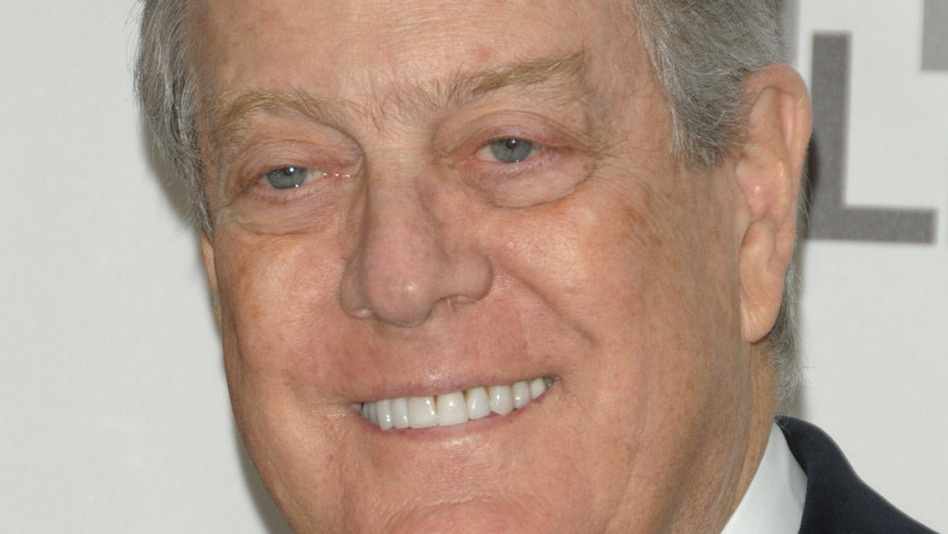 David Koch (above) and his brother, Charles, give millions of dollars to groups working to drive civil service unions out of government and ultimately out of politics. (AP)