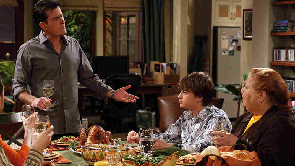 Charlie Sheen, Angus T. Jones and Conchata Ferrell star in Two And A Half Men, which will cease production for the season because of Sheen's recent personal problems.