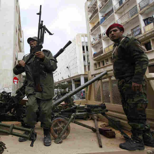Libyan  Rebels Plan Offensive Against Tripoli