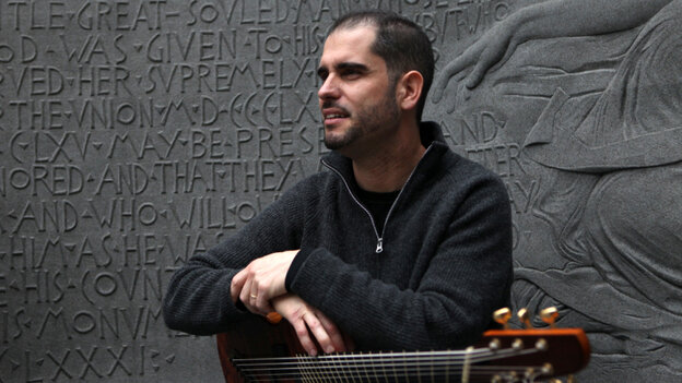 Charlie Hunter will perform on the World Cafe Live stage today.