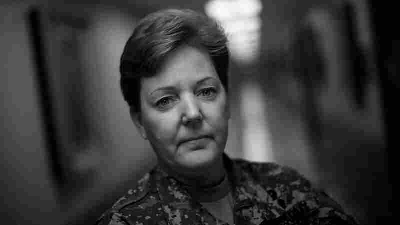 Brig. Gen. Heidi Brown, U.S. Army, at the Pentagon.