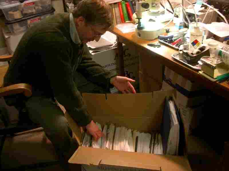 Pollack has accumulated thousands of letters from all over the world and says he replied to every one.