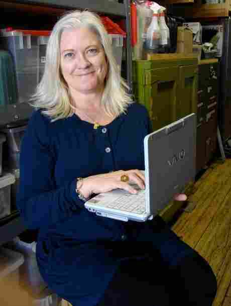 Hollywood property master Trish Gallaher Glenn dug up this Sony Vaio laptop — and something like 60 other computers — for 'The Social Network.'