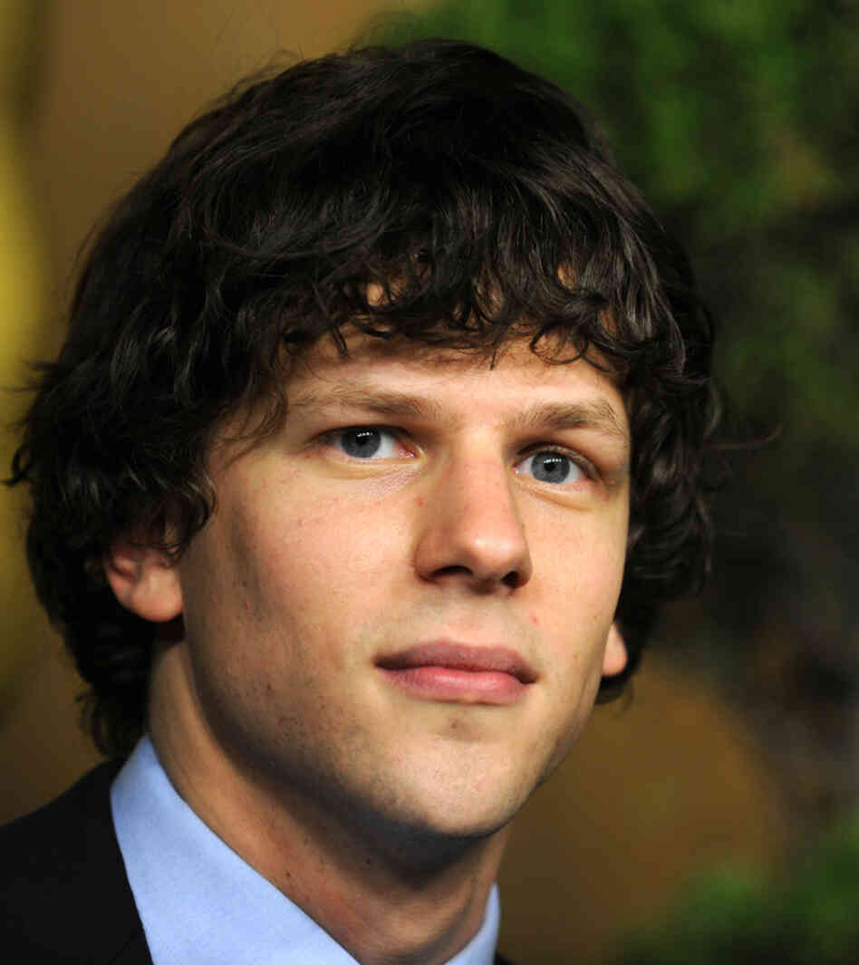Jesse Eisenberg arrives at the 83rd Academy Awards Nominations Luncheon on February 7, 2011.
