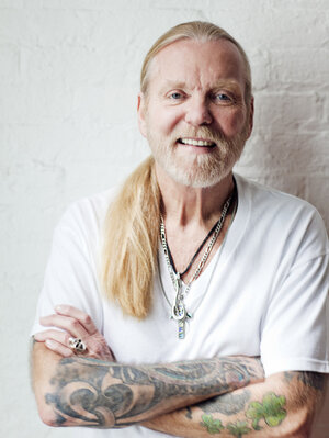 Gregg Allman underwent a liver transplant shortly before his latest album, Low Country Blues, was released.