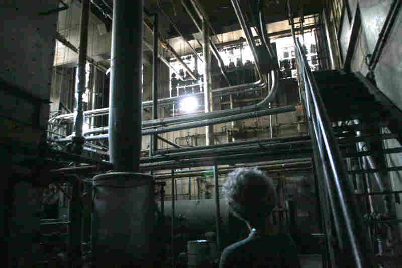 "The boiler room of the Linda Vista Hospital – two stories high and ""covered in dust and grit and grime,"" Dresser says  – might be perfect for his film."