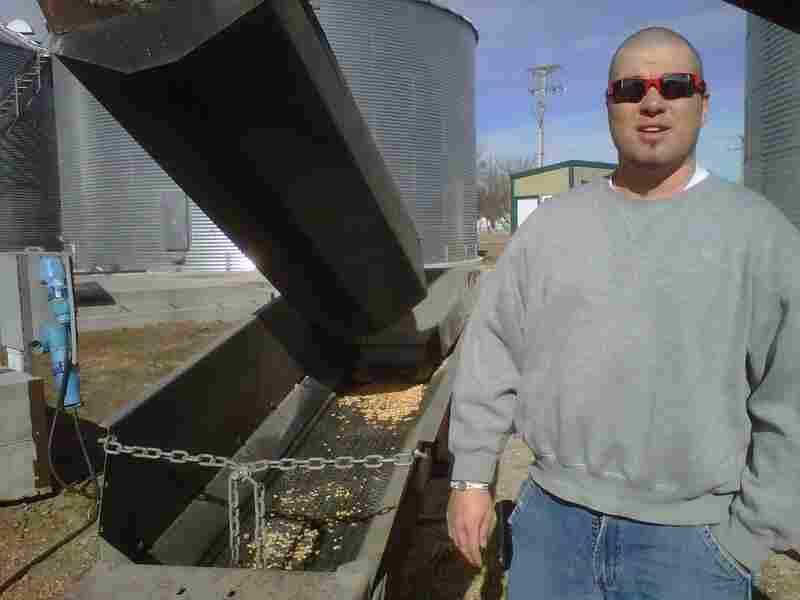 Brandon Hunnicutt, a Nebraska corn farmer, uses technology — and even Twitter — to run his farm.