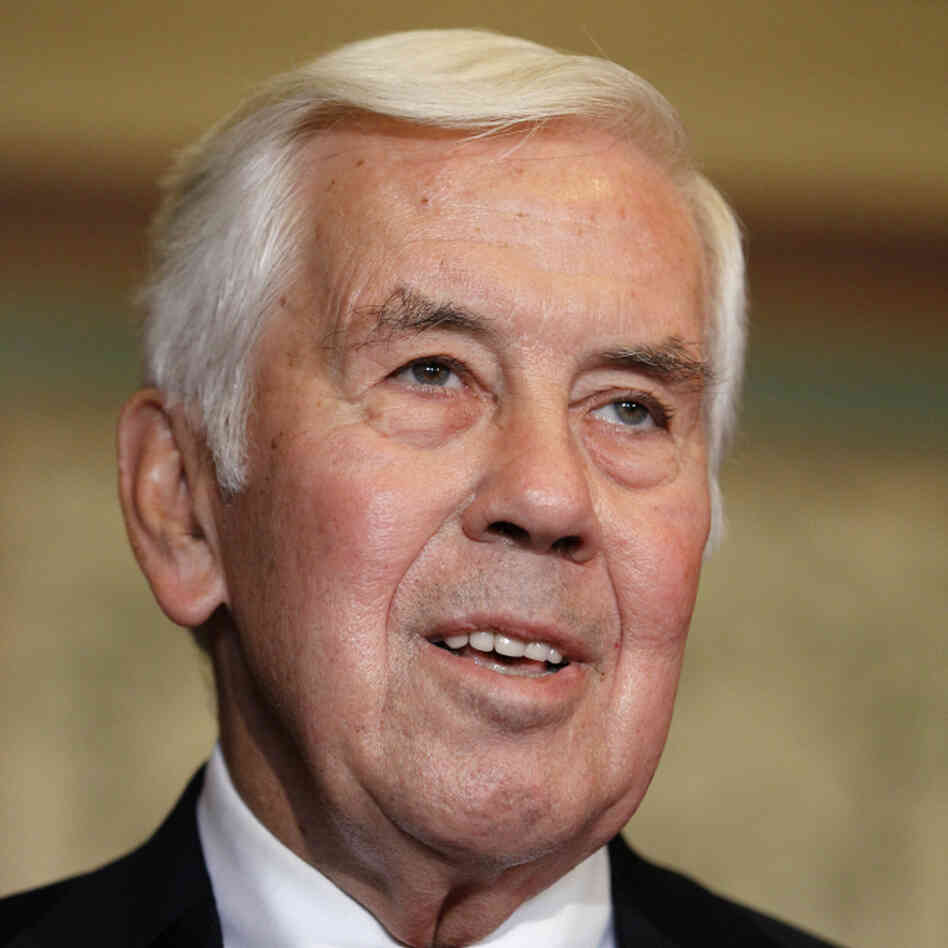 Lugar, in the Senate 34 years, faces a strong Tea Party challenge in next year's GOP primary.