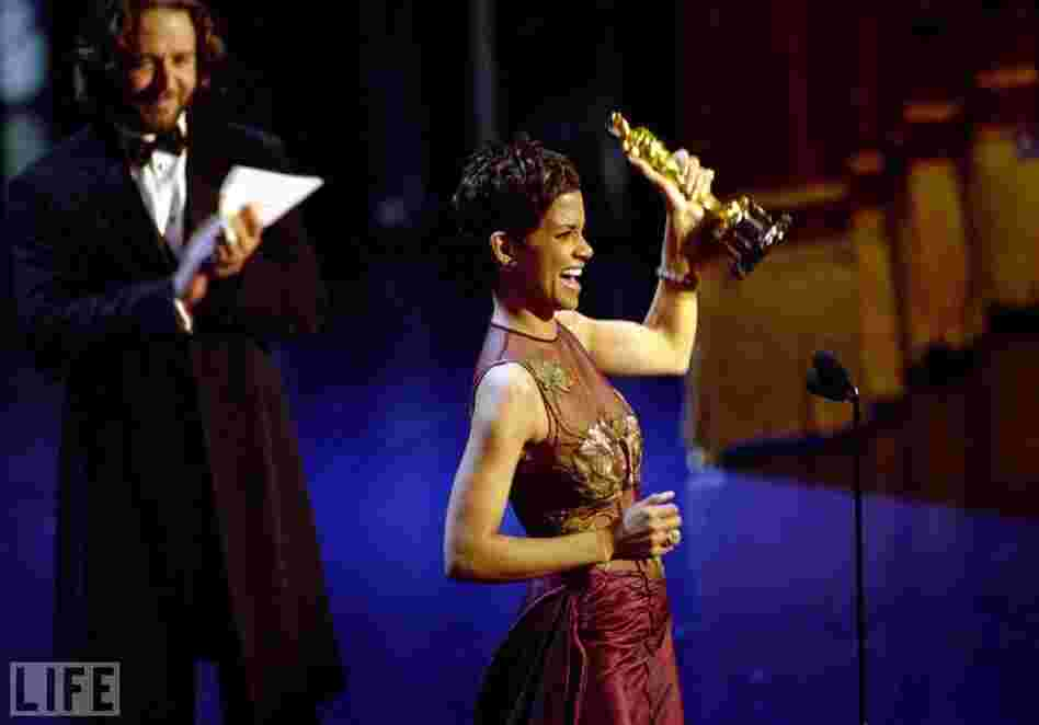 In 2002, Halle Berry became the first black woman to win Best Actress.