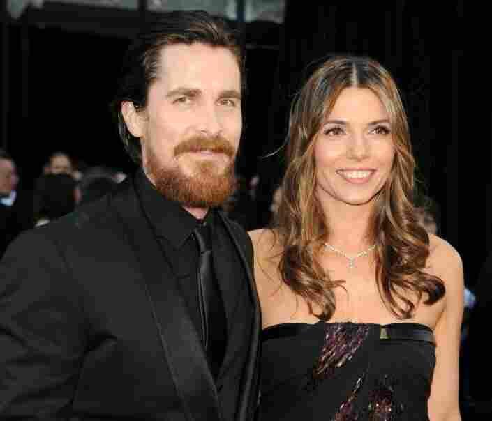 Christian Bale and wife Sibi Bale.