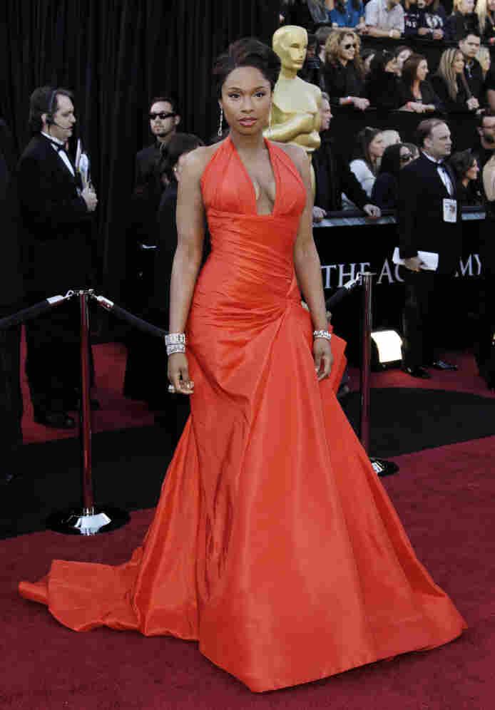 Jennifer Hudson was a presenter at the Academy Awards ceremony.