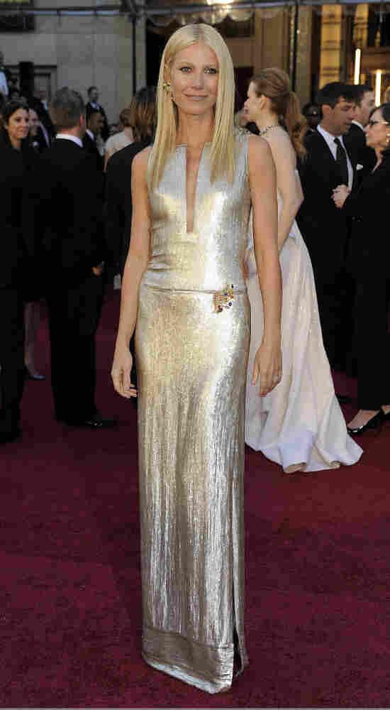 Gwyneth Paltrow before the 83rd Academy Awards on Feb. 27.