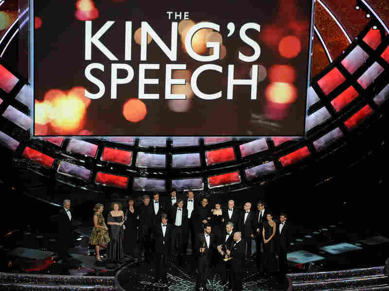 The King's Speech was the night's big winner with four Oscars, including Best Picture.