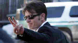 Charlie Sheen leaves court in March 2010.