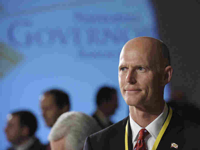 Florida Gov. Rick Scott says he is opposed to a prescription drug database because it is an invasion of privacy.