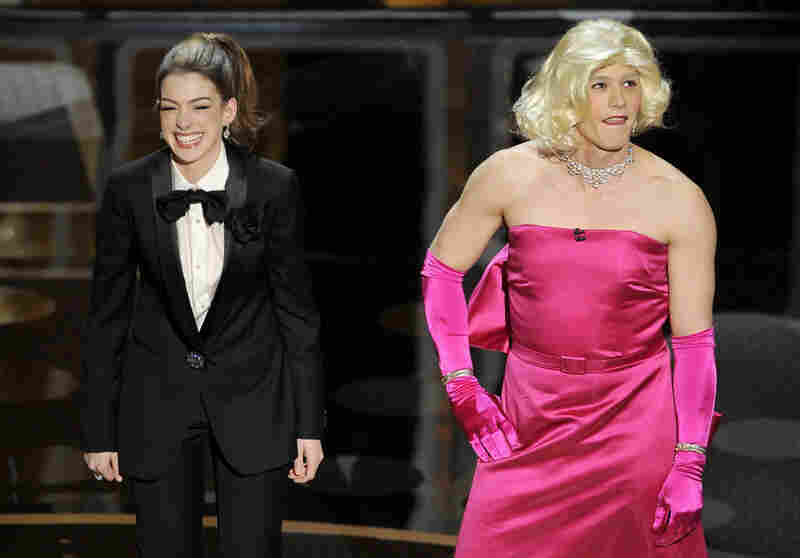 Many Oscar-watchers felt she and Franco largely fell flat as hosts — despite one gag that put Franco in Marilyn Monroe drag.