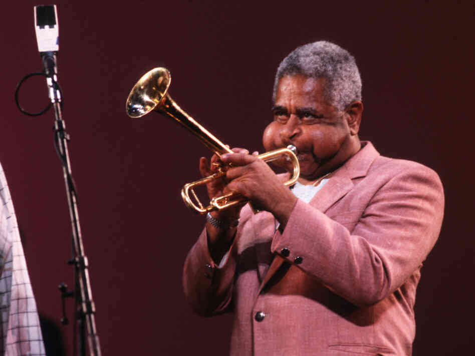 Dizzy Gillespie performs in New York, c. 1988.