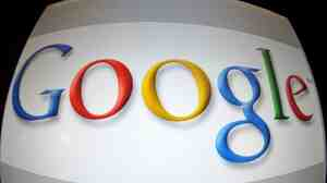 (FILES) This January 11, 2011 screen imageshows the Google logo in Washington, DC. Google unveiled an online payment platform for publishers on February 16, 2011, a day after Apple launched a subscription service of its own for newspapers, magazines, music and video.