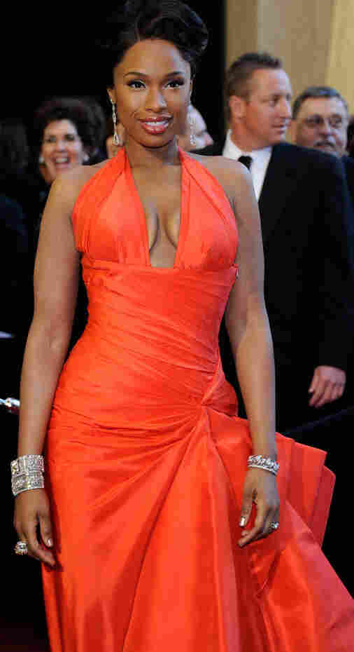 Singer and Oscar-winning actress Jennifer Hudson received rave red carpet reviews for her gown worn at Sunday's 83rd Annual Academy Awards ceremony.