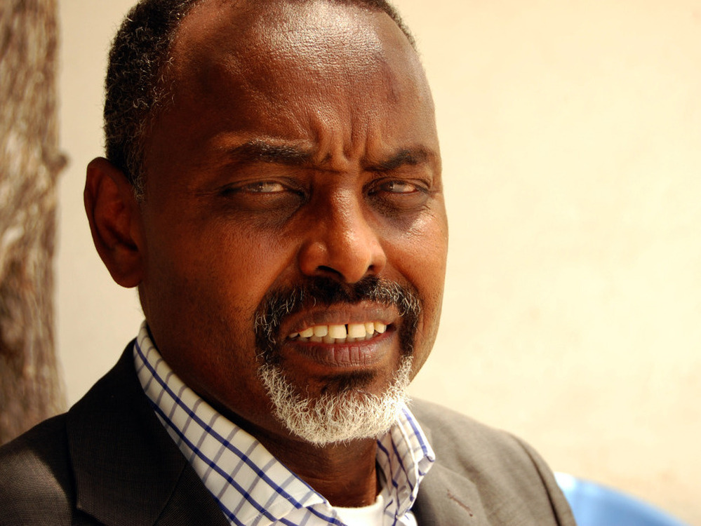 Mohamoud Nur returned from London last fall to  become the mayor of Mogadishu. This month, he tried to hold a  cultural festival in town, only to have a warlord send in gunmen to shoot up the  crowd.