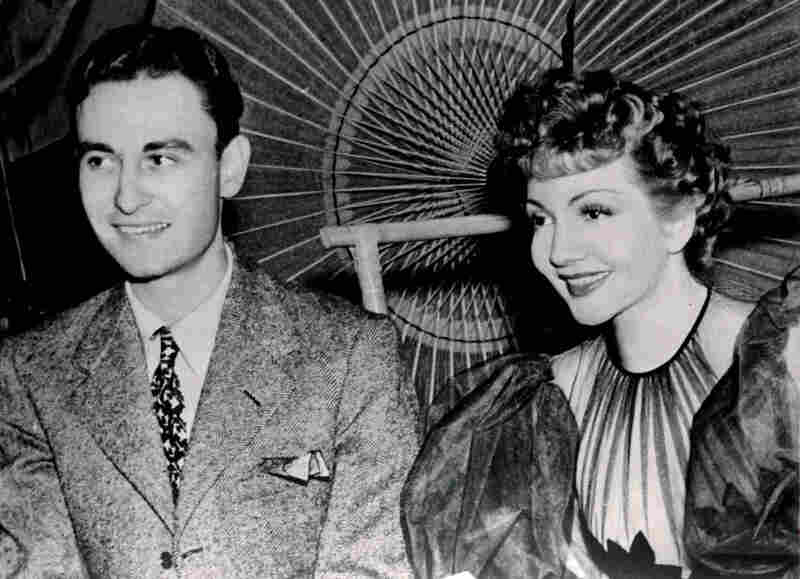 Claudette Colbert won the best-actress Oscar for the 1934 comedy It Happened One Night. She poses above with a youthful A.C. Lyles.