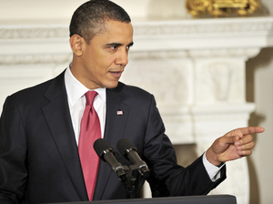 U.S.  President Barack Obama hosts a meeting with a bipartisan group of governors in the White House Monday.