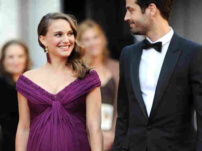 Actress Natalie Portman and Benjamin Millepied arrive at the 83rd Annual Academy Awards held Sunday at the Kodak Theatre in Hollywood, Calif.