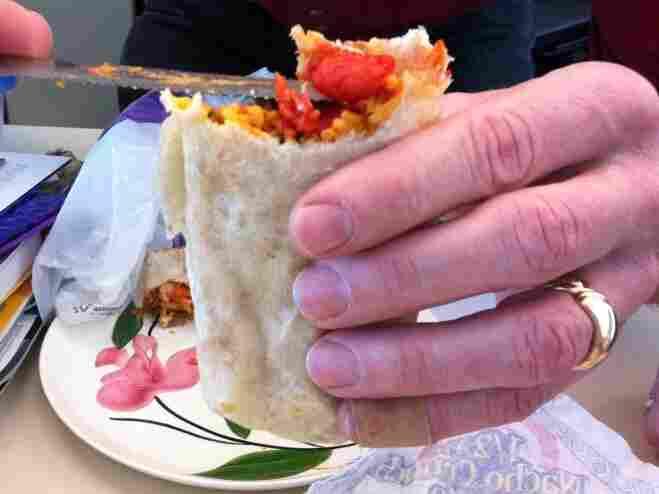 The burrito.