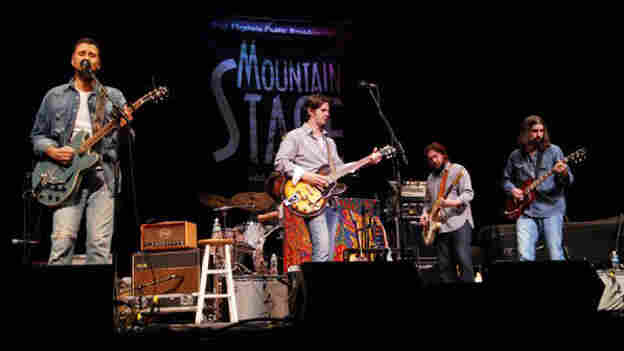 The Band of Heathens performed on Mountain Stage.