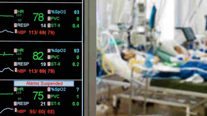A safety push had led to a decline in infections from central lines in ICUs.