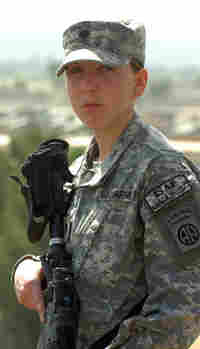 U.S. Army Spc. Monica  Brown, a medic from the 82nd Airborne Division who served in  Afghanistan. In 2008 she became the  second female since World War II to receive the award for gallant actions while  in combat.